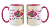 Kansas Jayhawks 15oz Mom Mug