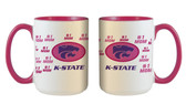 Kansas State Wildcats 15oz Mom Mug