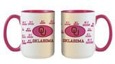 Oklahoma Sooners 15oz Mom Mug