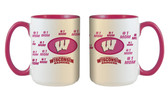 Wisconsin Badgers 15oz Mom Mug