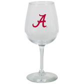 Alabama Crimson Tide 12.75oz Decal Wine Glass