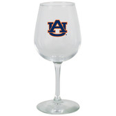 Auburn Tigers 12.75oz Decal Wine Glass