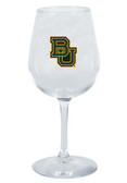Baylor Bears 12.75oz Decal Wine Glass