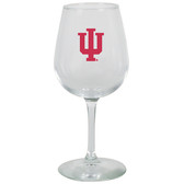 Indiana Hoosiers 12.75oz Decal Wine Glass