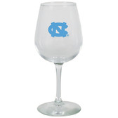 North Carolina Tar Heels 12.75oz Decal Wine Glass