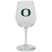 Oregon Ducks 12.75oz Decal Wine Glass