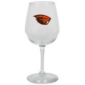 Oregon State Cowboys 12.75oz Decal Wine Glass
