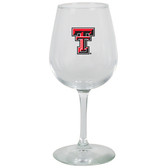 Texas Tech Red Raiders 12.75oz Decal Wine Glass