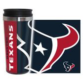 Houston Texans Travel Mug - 14 oz Full Wrap - Hype Style