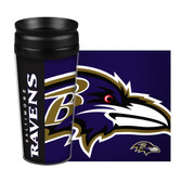 Baltimore Ravens Travel Mug 14oz Full Wrap Style Hype Design