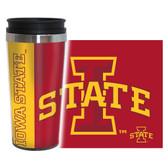 Iowa State Cyclones Travel Mug - 14 oz Full Wrap - Hype Style