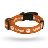 Clemson Tigers Pet Collar - Small