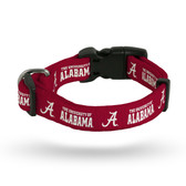 Alabama Crimson Tide Pet Collar - Large