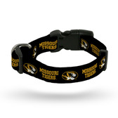 Missouri Tigers Pet Collar - Medium