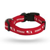 Nebraska Cornhuskers Pet Collar - Large