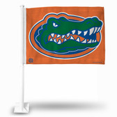 Florida Gators Orange Mean Head Car Flag
