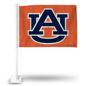 Auburn Tigers Orange Car Flag