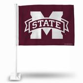 Mississippi State Bulldogs Car Flag