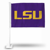 "LSU Tigers ""LSU Tigers LOGO"" Car Flag (PURPLE)"