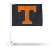 Tennessee Volunteers Orange on Grey Car Flag Car Flag