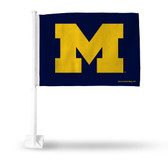 Michigan Wolverines Power M Yellow Car Flag