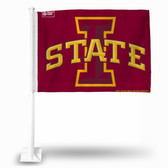 Iowa State Cyclones I Logo Car Flag