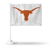 Texas Longhorns Logo White Background Car Flag