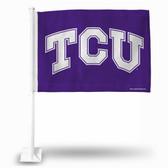 TCU Horned Frogs Car Flag