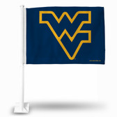 West Virginia Mountaineers Blue Car Flag