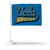 UCLA Bruins Script Car Flag