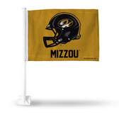 Missouri Tigers Helmet Car Flag