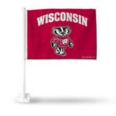 Wisconsin Badgers Car Flag #2