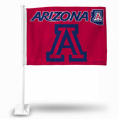 Arizona Wildcats Red Car Flag