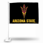 Arizona State Sun Devils Black Car Flag