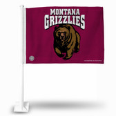 Montana Grizzlies Car Flag
