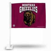 Montana Grizzlies Car Flag