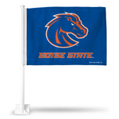 Boise State Broncos Car Flag BLUE