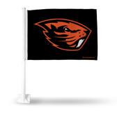 Oregon State Beavers Primary Logo Car Flag