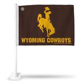 Wyoming Cowboys Car Flag