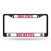 Ohio State Buckeyes BLACK Chrome Frame