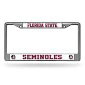 Florida State Seminoles Chrome Frame