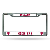 Indiana Hoosiers Chrome Frame