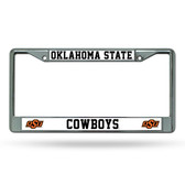 Oklahoma State Cowboys Chrome Frame