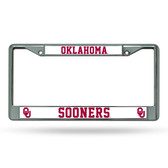 Oklahoma Sooners Chrome Frame