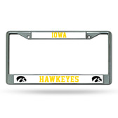 Iowa Hawkeyes Chrome Frame