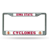 Iowa Hawkeyes Cyclones Chrome Frame