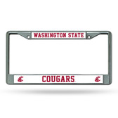 Washington State Cougars Chrome Frame