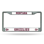 Montana Grizzlies Chrome Frame