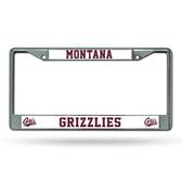 Montana Grizzlies Chrome Frame