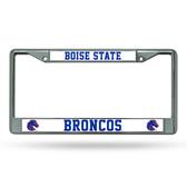 Boise State Broncos Chrome Frame